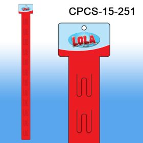 Custom Printed Merchandising Strip, 12 Stations, Easy to Load, CPCS-15-251