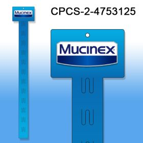 Custom Printed Merchandising Strip, 12 Stations, Easy to Load, CPCS-2-4753125