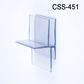 corrugated display shelf support, CSS-451