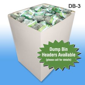 Header Available for the Large Corrugated Dump Bin Display, DB-3