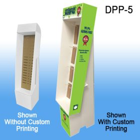 Custom Printed Power Panel Floor Display, DPP-5