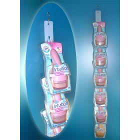 6 hook die cut econo clip strip® brand display strip, ex-31-6nt