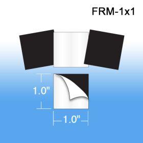 "Peel & Stick Magnets, 1"" x 1"", FRM-1x1"
