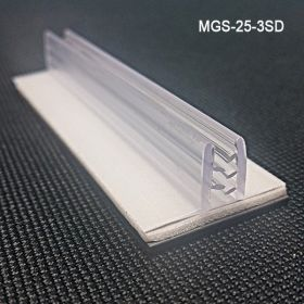 """Magnetic Sign Holder, Grip-Tite™ Standard Duty,  MGS-25-3SD, 1""""W x 3""""L x 1/2""""H"""
