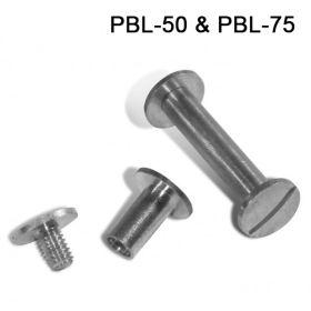 Post and Binder Locking Screws, PBL-50 & PBL-75