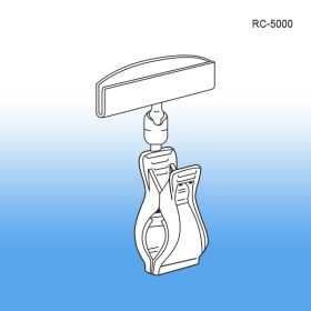 rotating sign holder with large clip, RC-5000