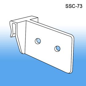 Clip Style Vertical Corrugated Shelf Support, SSC-73