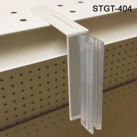 metal shelf with holes sign holder for flag signage, STGT-404