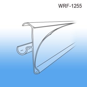 "Price Channel Label and Data Holder 29-1/2"", Cooler and freeezer wire shelving, WRF-1255"