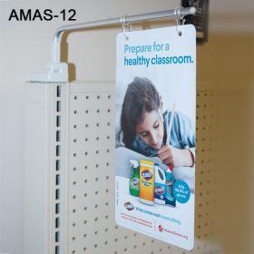 Adjustable Magnetic Extending Sign Holder, AMAS-12