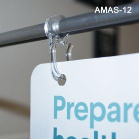 Adjustable Magnetic aisle violator Signage  Holder, AMAS-12
