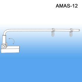 gondola aisle sign holder, magnetic, amas-12