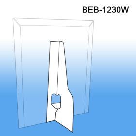 """Easy to Use, 7"""", Single Wing, Self Stick 32 point SBS Cardboard Easel, BEB-1230W"""