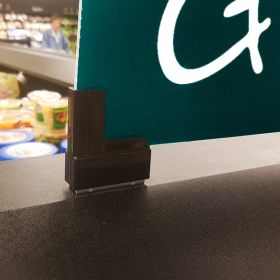 Magnetic Boot Sign Holder can be used again and again, BSM-8507BK