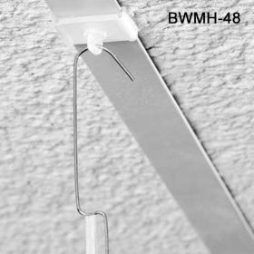 Adjustable Brass Wire Mobile Hangers   Ceiling Hook   Sign Holders, BWMH-48/60
