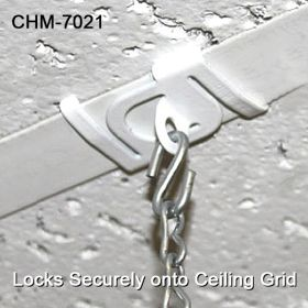 Secure Metal Twist Ceiling Loop - Drop Ceiling  Hanging Accessories, CHM-7021
