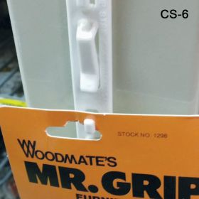 The Original Clip Strip® with 6 hooks, with adhesive, Cs-6
