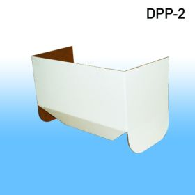 Removable Header for Corrugated Floor Power Panel Display, DPP-2