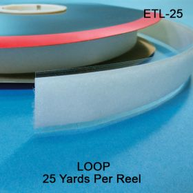 "Clip Strip Loop Fastener Tape, 1"" wide, ETL-25"