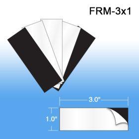 "Peel & Stick 3"" x 1"" Magnets, FRM-3x1"