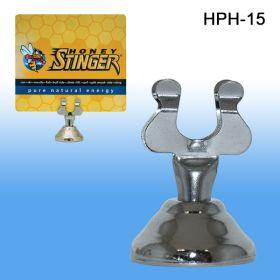 """Harp Clip Sign Holder, 1.5"""" Stem, HPH-15"""