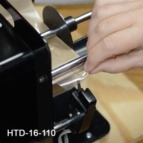 Automatically peels and advances the next hang tab, Item# HTD-16-100