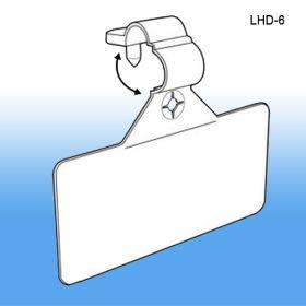 Secure - Lok Wire Label Holder   Plastic Sign Holders, Item# LHD-6