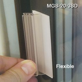 """Reusable Grip-Tite™ Standard Duty Flexible Magnetic Sign Holder, MGS-20-3SD,1""""W x 3""""L x 7/8""""H"""