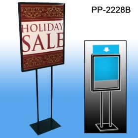Floor Banner Stands - Poster Frame Display Stand, PP-2228