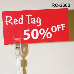 Swivel roto magnetic clip sign holder, RC-2600