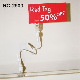 magnetic swivel roto clip sign holder, rc-2600