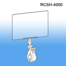 Roto Clips & Sign Holders - Print Protector / Sign Holder, RCSH-4000