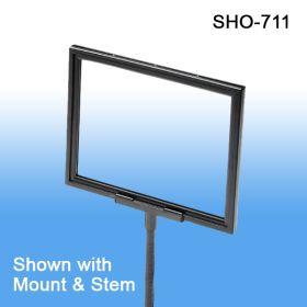 Sign frame | retail sign holder, 11 x 7 or 7 x 11, SHO-711