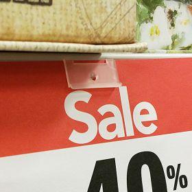 plastic flush clip on sign holder, item# spf-202, retail