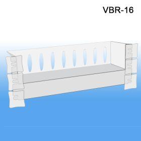 Specialty Shelf for Glass Doors, Great for Cross-Merchandising, VBR-16