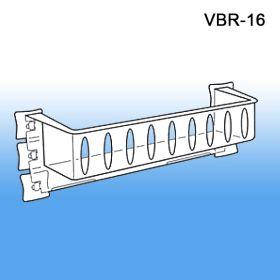 Vented Specialty Shelf for Glass Doors, with Custom Branding, VBR-16