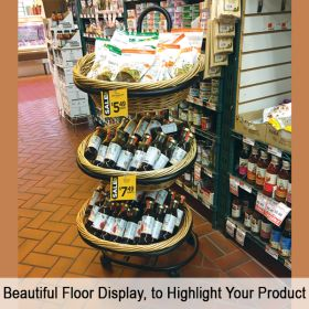 Beautiful Floor Display, to Highlight Your Product, WBFD-50-3