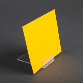 Inexpensive, Angled Countertop Sign/Card Holder, ACH-2
