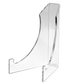 8 inch high clear acrylic display easel, ADE-86