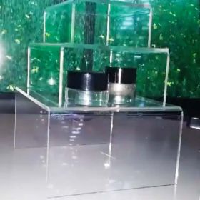 "Reusable, Display Risers, Acrylic, Set of Three - 3"", 4"", 5"", ADR-345"