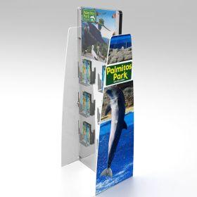 Free Standing Brochure Display, FSDU-C