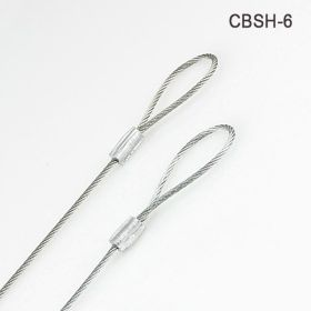"Six Inch, 1/16"" diameter wire ceiling cable, CBSH-6"