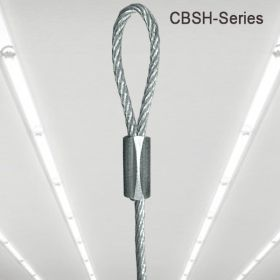 "48"" Long Ceiling Cable with Looped Ends, CBSH-48"
