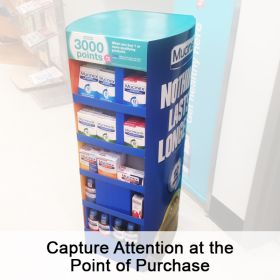 Affordable POP Displays Designed Custom for Your Brand, CCFD-100