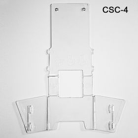 Ships flat -save on shipping costs and storage space, CSC-4