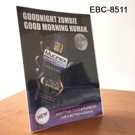 Reusable, easel style countertop  sign holder, EBC-8511