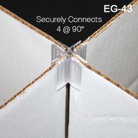 4-way corrugated connector, EG-42