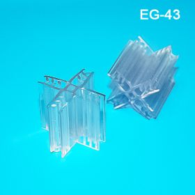 Clear Grip-Tite™ 4-Way POP Display Panel Former (90°), EG-43