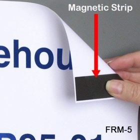 Cut To Size, Peel & Stick Magnets on a Roll, FRM-5