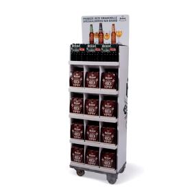 Free Standing Beverage Display, FSDU-C